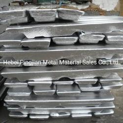 Lingotes de alumínio/sucata de alumínio/sucatas de alumínio/perfis extrudados de alumínio