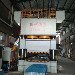 Eight-Column Double-Action presse hydraulique pour le gaufrage de tôle en acier