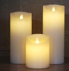 Flammenlose Kerze des Weihnachtenled, Weihnachtskerze-Licht, Partei-Kerze