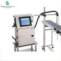 온라인 플라스틱 병 알루미늄 깡통 만기일 배치 부호 기계 잉크젯 프린터