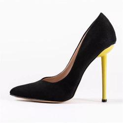 Bombas de moda apontaram Toe Stiletto Senhoras vestir Calçados Sapatos de salto alto mulheres
