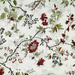Linho impresso algodão linho tecido Blended artesanal tecido de bricolage para Pano/cortinas/almofada decorativos