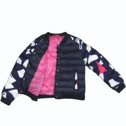 Три цвета вниз для взрослых Jcaket Cotton-Padded одежды