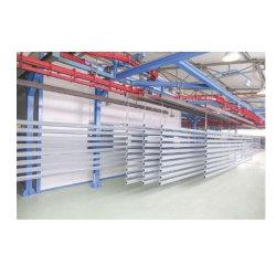 De Lijn van de Deklaag van het Poeder van de Profielen van het aluminium met de Machine van de Deklaag van het Poeder