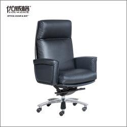 أسود جلد مهمة مؤتمر حاسوب جمهور 360 مرود خابور مكتب كرسي تثبيت مع [أتّومن] مسند للقدمين لأنّ رئيس/مديرة