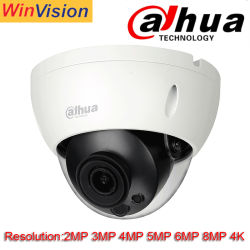 Venda por grosso Dahua 2MP 3MP 4MP 5MP 6MP 8MP 4K HD Fisheye Bullet Dome PTZ de globo ocular Segurança IP Poe câmara CCTV
