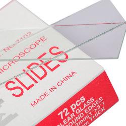 Goedkoopste laboratoriumglaswerk Slide Glass voor objectglaasjes