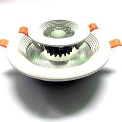 Aluminium-LED-Umbau-Vorrichtung vertiefte Downlight Deckel-Installationssatz Druckguß