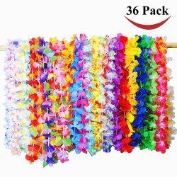 36 عد تروبيكال هاواي زهرة حزب لى تفضل الألوان هاواي عنق زهرة ليس لون هاواي ليس