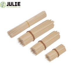 Entrar em contato com alimentos Eco-Friendly grau elevado de higiene de qualidade 100% natural Birch espetos de madeira