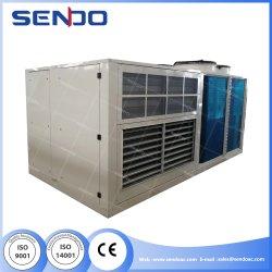 Compressore inverter T3 DC a bassa rumorosità e risparmio energetico raffreddato ad aria Raffreddamento del gruppo di condizionamento dell'aria R410A con recupero di calore E raffreddamento/economizzatore gratuito