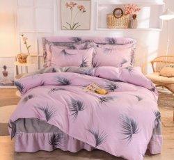 Polyester Afgedrukte Stof 100% de TextielFabriek van het Huis van Katoenen Bedsheet van de Stof