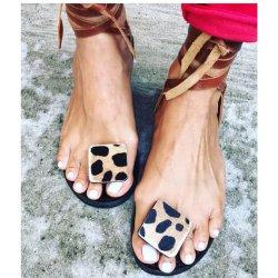 Высокое количество женщин ремешок гладиаторов Boho Lace Up сандалии оптовая торговля