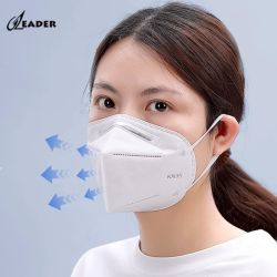 China Fornecedores Marcação FDA Niosh descartáveis de algodão KN95 Máscara