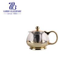 800ml高いホウケイ酸塩ガラス(GB11540800-10B)と飲む茶のためのフランスの押されたガラスやかんのガラス茶鍋か水またはコーヒー