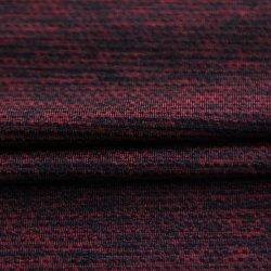 熱いスポーツ・ウェアまたはヨガの摩耗か衣服またはレギングのための通気性の販売の伸張の伸縮性がある網のブレンド80%Nylon&Polyester 20%Spandexのヤーンによって染められる明白なWeft編むファブリック