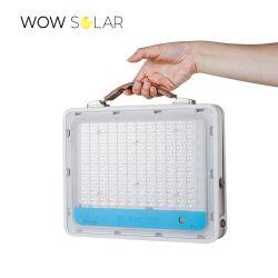 OEM fabbrica ODM buon prezzo LED portatile ricaricabile solare di emergenza Luci da campeggio