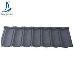La mejor calidad precio de fábrica directamente Cascajos de acero corrugado recubierto de hojas de techos de metal recubierto de tejas romanas