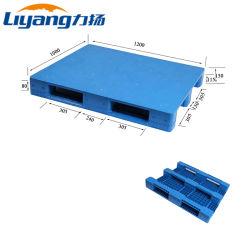 OEM Cheap Plastic Pallet Manufacturers Supply Storage Double Faced Deck Specifiche specifiche 3 barre Pallet in plastica HDPE