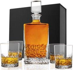 ウイスキーグラスデカンターセット 7PCS ワインゴッレットグラスウェア