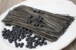 De organische niet GMO Zwarte Deegwaren van de Spaghetti van de Sojaboon