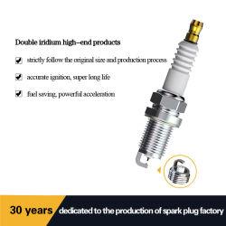 Bougie van uitstekende kwaliteit van het Iridium van de Motor van Auto's de Dubbele