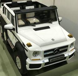 Passeio de Mercedes Benz licenciados no brinquedo com controle remoto para as crianças 12V Carro da Bateria