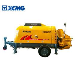 XCMG شاحنة المضخة الإسمنتية المثبتة بالمقطورة الرسمية Hbt6013K صغيرة سعر خالط الخرسانة المحمولة خفيف الوزن
