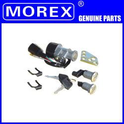 piezas de repuesto de motos Accesorios Morex verdadero contacto Kit de juego de bloqueo de la tapa del depósito para CH-125