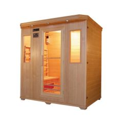Loin de la pruche du Canada Joda Sauna Sauna Infrarouge chambre pour 4 personnes qd-B4