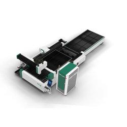 断裁および管の切断の両方強い鋳鉄のベッドCNCのファイバーレーザーのカッターのための