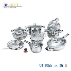 Edelstahl21pcs cookware-Set