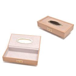 رف تغطية جلد [فسل تيسّو] صندوق لأنّ منزل (6803)