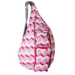 حقيبة ظهر من نوع Cotas Cotton Full Printing وحقيبة يد حبال للسيدات