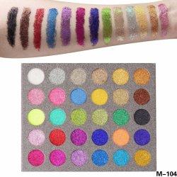 専門の構成のパレットの乾燥したShimmery粉の化粧品は30のカラーきらめきのアイシャドウを押した