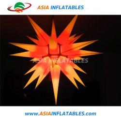 Stella d'attaccatura di natale di illuminazione gonfiabile luminosa del LED