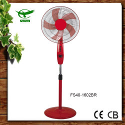 De rode 5as Ventilator van de Tribune van de Ventilator van het Voetstuk van de manier Elektro