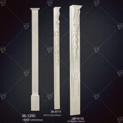 Интерьер и экстерьер с высокой плотностью установки декоративной панели PU из полиуретана литьевого формования для литьевого формования рамы двери и стекла на заводе