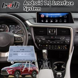 Android 7.1 Auto Gps Navigatie Interface Box Voor Lexus Nx / Rx / Es / Is / Ct / Lx / Ls Mouse Control