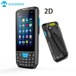 Collettore di dati dello scanner del codice a barre del terminale tenuto in mano Android senza fili industriale di PDA 2D