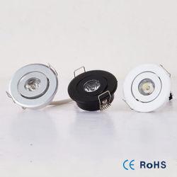 1 Вт 3 Вт Светодиодные потолочные лампы Mini вниз за круглым столом для акцентного освещения жизни кухня светодиодные потолочные светильники