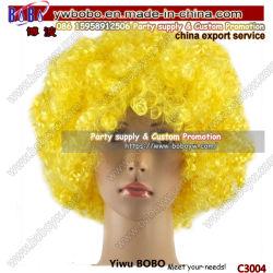 Partie Partie Partie des éléments favorables perruque perruque afro parti parti de la nouveauté de cadeaux Halloween produits (C3004)