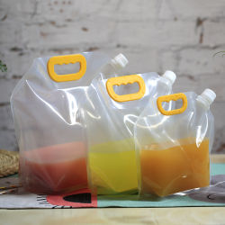 Nahrungsmittelverpackungs-Plastikdrucken-Wasser-Quetschkissen-Fastfood- Tülle-Beutel Alumium Folien-Stützblech-verpackenbeutel für Joghurt-Wasser-Saft-Milch-Getränk