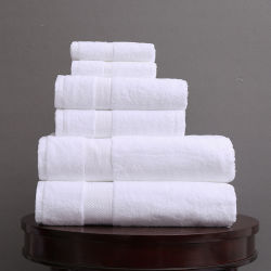 浴室タオルの100%年の綿手タオルの表面タオルのWashclothの白いホテルタオル