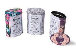 Impressão personalizada Candy embalagem de metal podem Biscuit Círio Cookie Oval Caixa de estanho