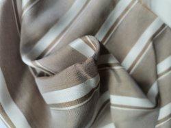 100% puros 6um tecido de seda (Fios tingidos) para a peça de vestuário fino (vestidos, casacos, fatos e assim por diante)