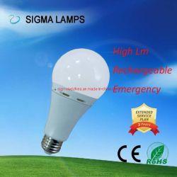 Sigma Hot AC/DC Vendeur Gfc 110V 220V AC 7W 9W 12W 15W B22 E27 Bd sauvegarder sa rechargeable Lampe LED à gradation la lumière de l'ampoule d'urgence