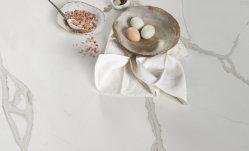 Calacatta Pedra de quartzo de ouro para a bancada de cozinha/mesa de jantar