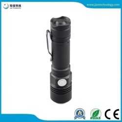 Sst20 10W LED USB Charging Mini 18650 Flashlight