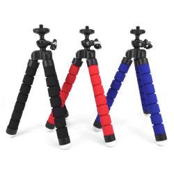 Портативный и дешевые губкой штатив осьминог мини-штатив поддерживает стенд губкой для мобильных телефонов камеры